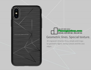 Ốp dẻo chống shock Nillkin Magic Case iPhone X